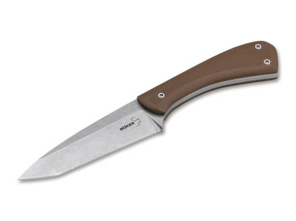 Fixed Blade, Brown, D2, G10