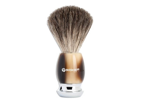 Shaving Brush, Brown, Precious Resin