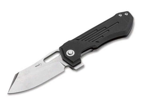 Pocket Knife, Black, Framelock, D2, G10