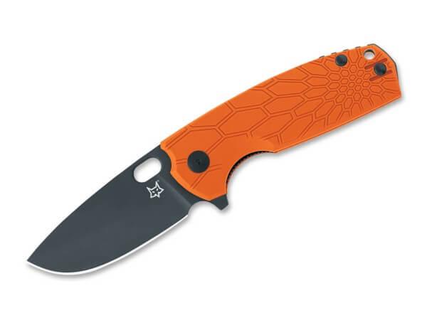 Pocket Knife, Orange, Flipper, Linerlock, N690, FRN