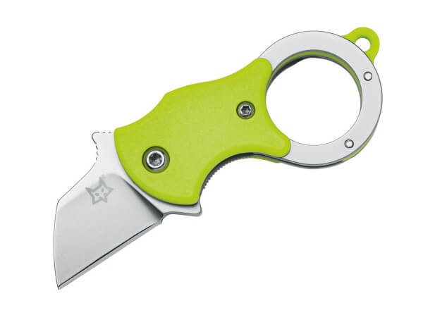 Pocket Knife, Green, Friction, Linerlock, 4116, FRN