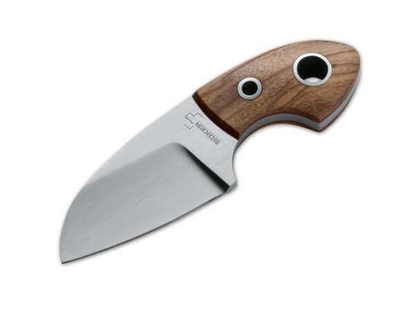 Fixed Blade, Brown, Fixed, 440C, Olive Wood