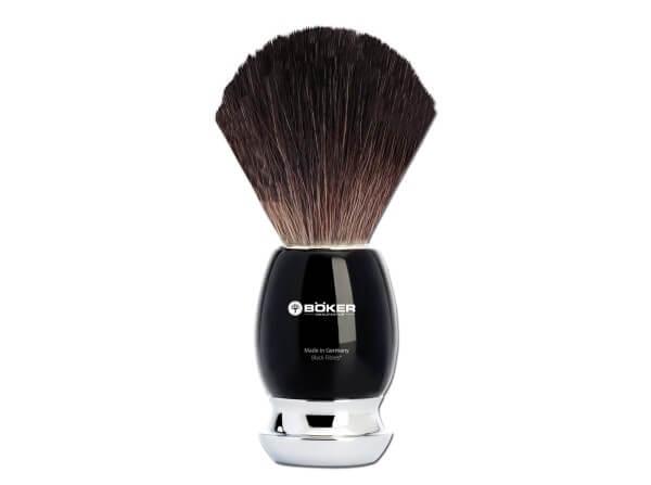 Shaving Brush, Black, Precious Resin