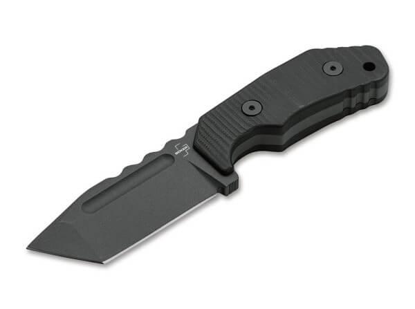 Fixed Blade, Black, D2, G10