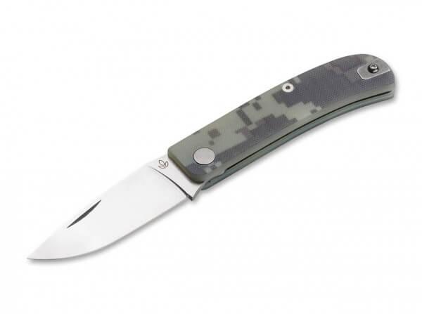 Pocket Knife, Green, Nail Nick, Slipjoint, CPM-S-90V, G10
