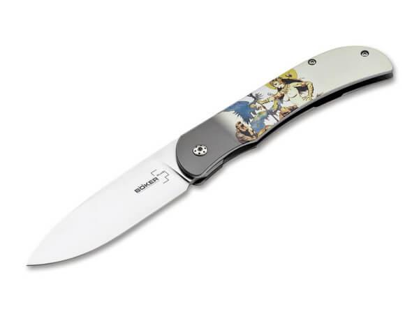 Pocket Knife, Multicolored, No, Linerlock, 440C, Aluminum