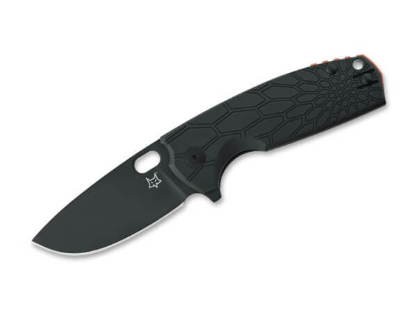 Pocket Knife, Black, Flipper, Linerlock, N690, FRN