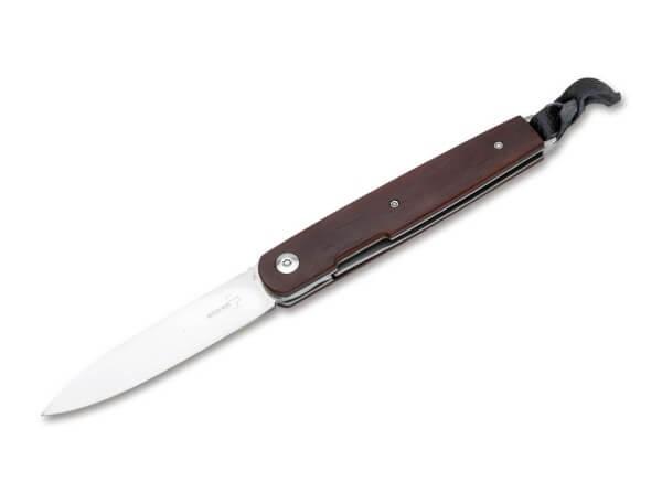 Pocket Knife, Brown, Linerlock, VG-10, Cocobolo Wood