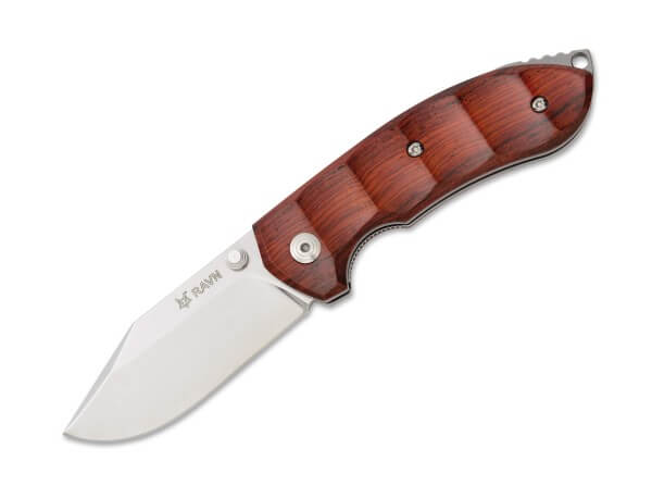 Pocket Knife, Brown, Thumb Stud, Linerlock, N690, Cocobolo Wood
