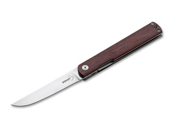 Pocket Knife, Brown, Flipper, Linerlock, VG-10, Cocobolo Wood