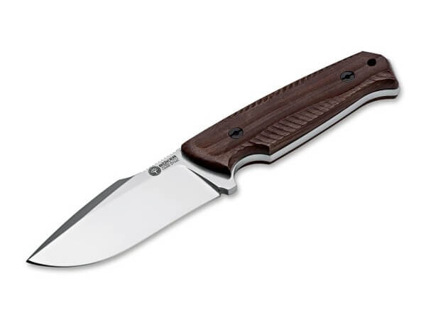 Fixed Blade, Brown, N695, Guayacan Wood