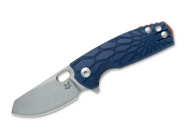 Pocket Knife, Blue, Thumb Hole, Linerlock, N690, FRN