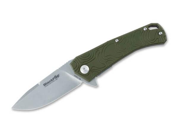 Pocket Knife, Green, Flipper, Linerlock, 440C, G10