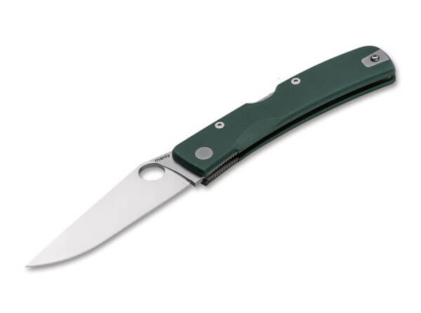 Pocket Knife, Green, Thumb Hole, Backlock, CPM-S-90V, G10