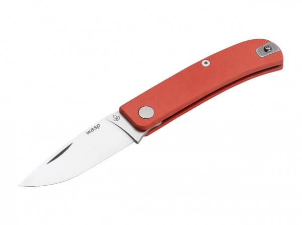 Pocket Knife, Orange, Nail Nick, Slipjoint, 12C27, G10