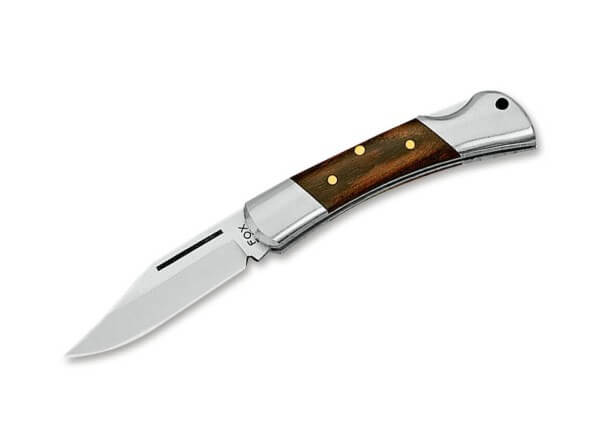 Pocket Knife, Brown, Nail Nick, Backlock, 12C27, Tulip Wood