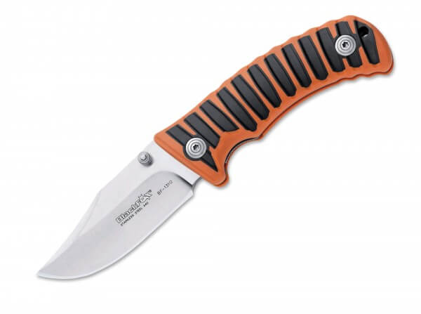 Pocket Knife, Orange, Nail Nick, Linerlock, 440C