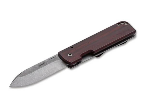 Pocket Knife, Brown, Nail Nick, Framelock, D2, Cocobolo Wood