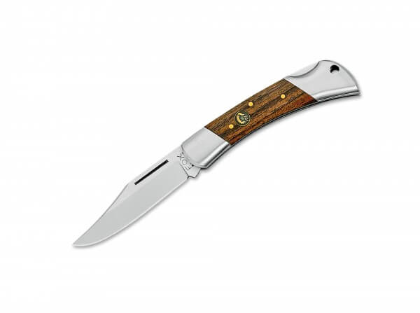 Pocket Knife, Brown, Nail Nick, Backlock, 12C27, Rosewood