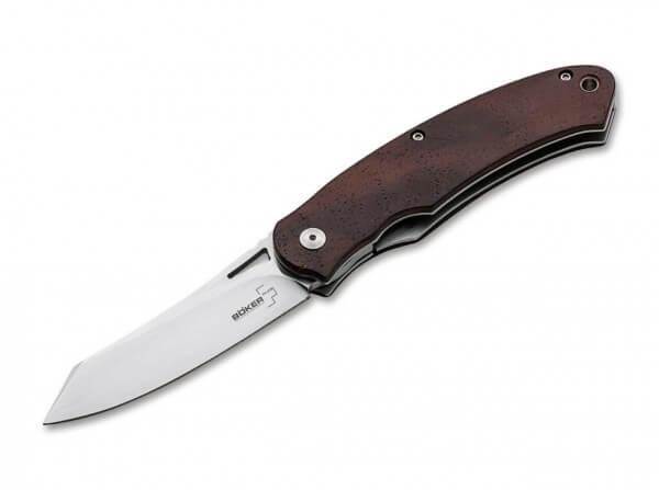 Pocket Knife, Brown, Flipper, Linerlock, D2, Cocobolo Wood