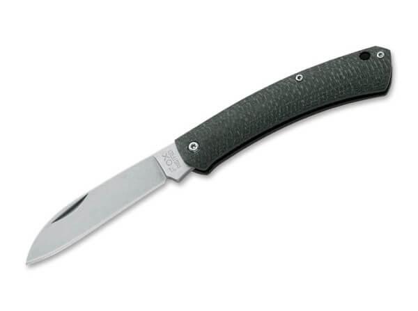 Pocket Knife, Green, Nail Nick, Slipjoint, 420C, Micarta