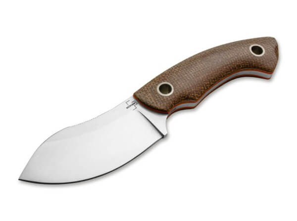 Fixed Blade, Brown, D2, Micarta