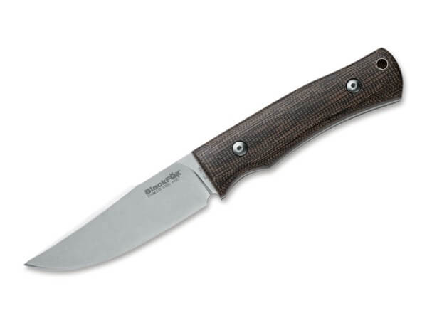 Fixed Blade, Brown, Fixed, 440C, Micarta