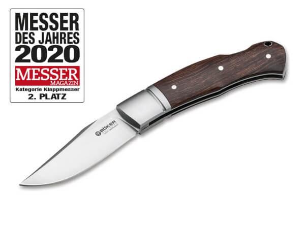 Pocket Knife, Brown, No, Backlock, N690, Desert Ironwood