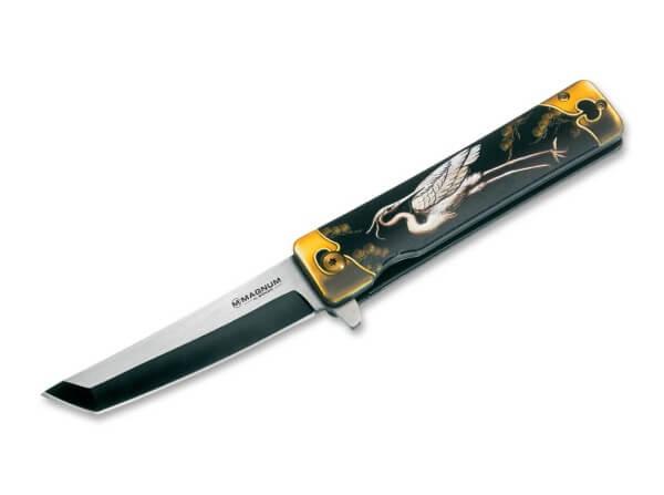Pocket Knife, Multicolored, Flipper, Linerlock, 440A, Stainless Steel